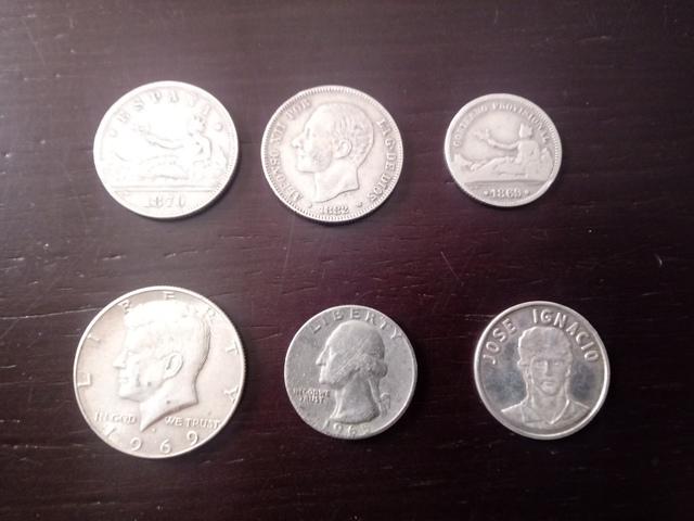 Monedas De Plata.