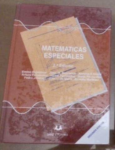 MATEMÁTICAS ESPECIALES.  ED.  SANZ Y TORRE - foto 1
