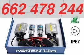 KIT BIXENON H4 4300K 6000K 8000K - foto 1