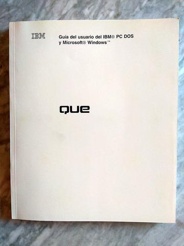 LOTE 3 MANUALES IBM PC MS DOS WINDOWS - foto 5