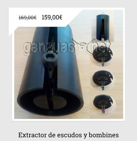 Extractor De Escudos Y Cerraduras Barcel