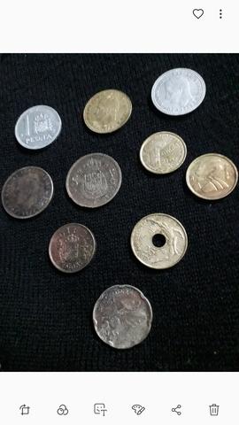 Moneda Española, Pesetas.