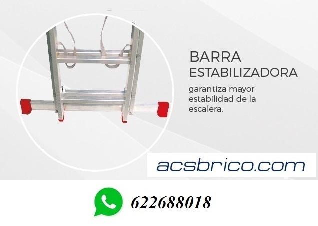 ESCALERAS TRAMOS ALUMINIO – 2T – 2, 5+2, 5 - foto 4