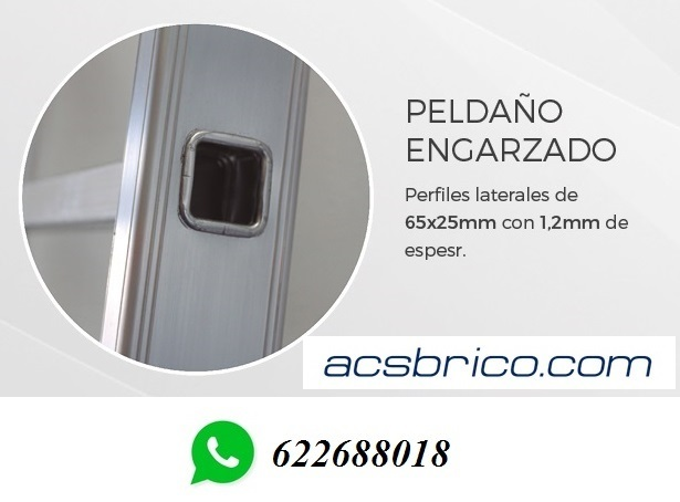 ESCALERAS INDUSTRIAL – 3X9 – 7, 50 METROS - foto 3