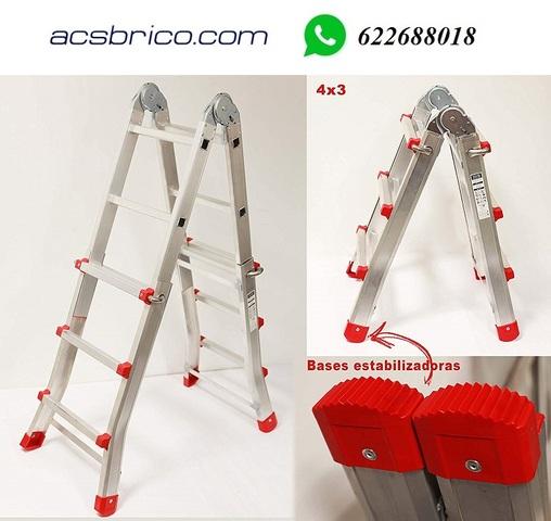 ESCALERA EXTENSIBLE 6+6 P ALU - foto 1