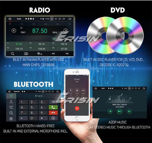 RADIO CD ES7866F COMPATIBLE CON FORD - foto 4