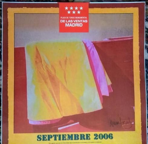 CARTEL DE TOROS EN MADRID 17 Y 24/9/2006 - foto 1