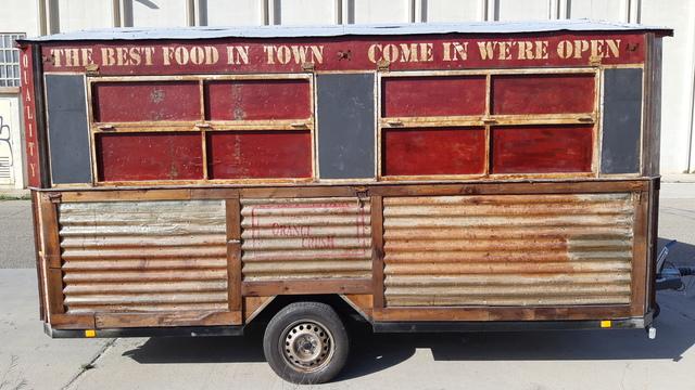 FOOD TRUCK AMARICANA RETRO - HOMOLOGACION EUROPEA - foto 3
