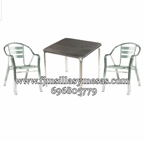 Mil Anuncios Com Sillas Terraza Aluminio Segunda Mano Y