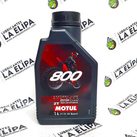 ACEITE MOTUL 800 2T FACTORY LINE OFF ROA - foto 1