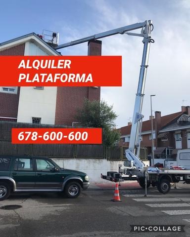 ALQUILER CAMION CESTA 26 METROS - IVECO DAILY - foto 4