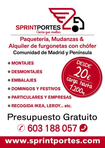 PORTES Y MUDANZAS A TODA LA PENINSULA - foto 3