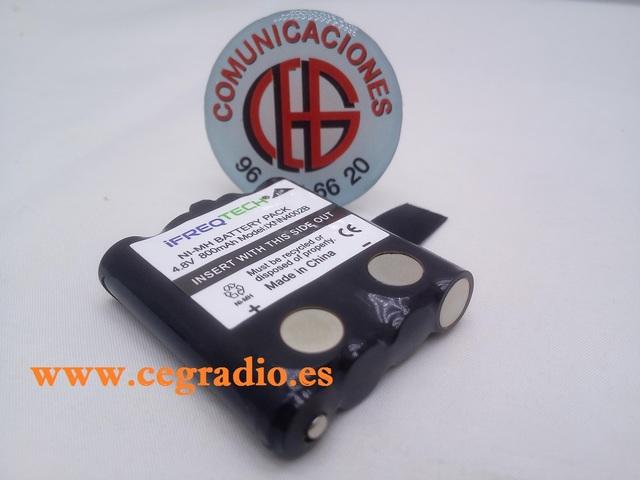 Bater/ía de repuesto para Motorola tipo IXNN4002B NiMH 4,8 V