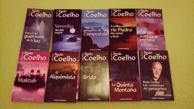 COLECCIÓN DE LIBROS DE PAULO COELHO - foto 1
