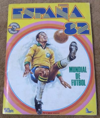 ALBUM MUNDIAL FUTBOL ESPAÑA 1. 982 - foto 1