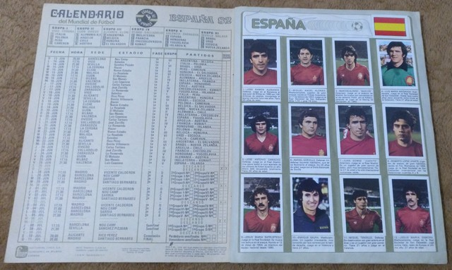 ALBUM MUNDIAL FUTBOL ESPAÑA 1. 982 - foto 2