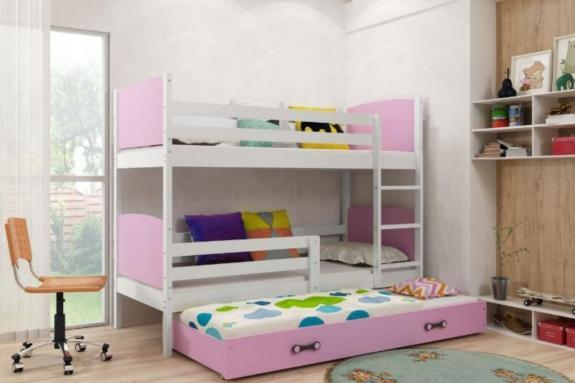Color Gris ,Tami Infantil colchones,somieres y caj/ón Gratis Azul Interbeds Litera Doble, los Paneles 200X90
