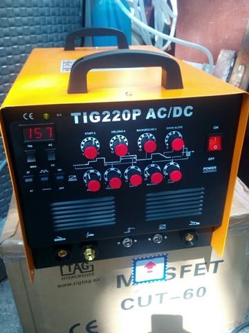 TIG 220 P,  AC/DC. MAQUINA SOLDAR.  - foto 1