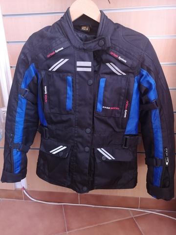 bordados en chaquetas de cuero jerez