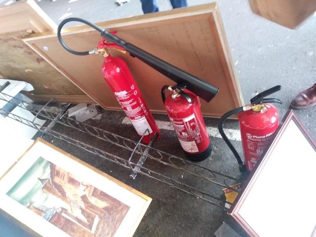 Extintor 9 Kg Polvo Y Co2 Sin Usar Nuevo