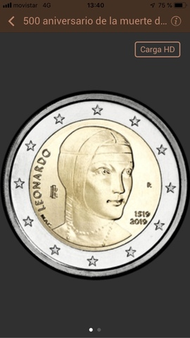 Monedas Conmemorativas De 2 Euros  Sc