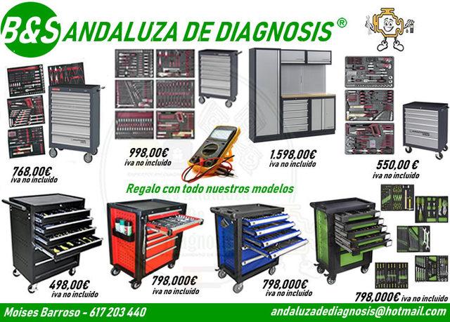 26a71a5de COM - Carro herramientas Segunda mano y anuncios clasificados en Sevilla