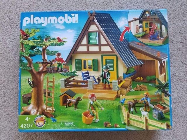 VENDO CASA GUARDABOSQUES DE PLAYMOBIL - foto 1