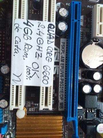 ASUS P5KPL-AM LGA 775 + QUAD CORE 6600 - foto 6