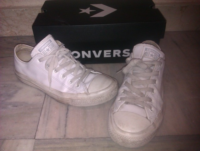 all star converse 37 blancas