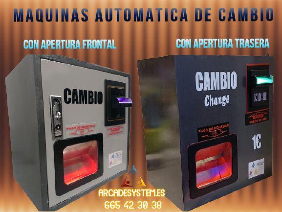 MAQUINA DE CAMBIO DE MONEDAS O FICHAS - foto 6