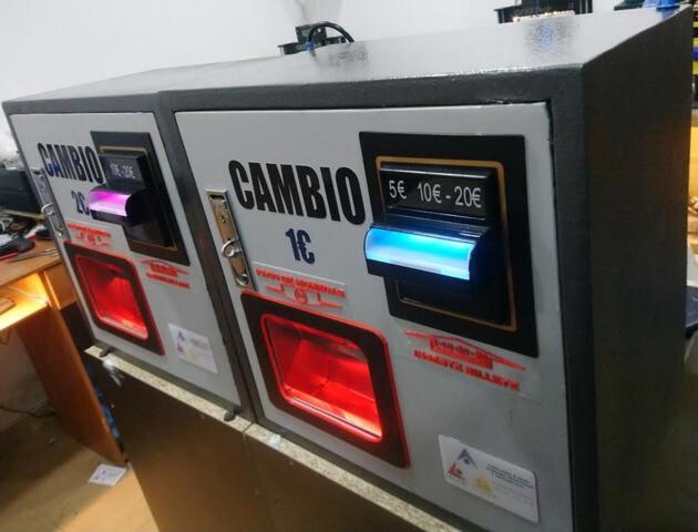 MAQUINA DE CAMBIO DE MONEDAS O FICHAS - foto 8