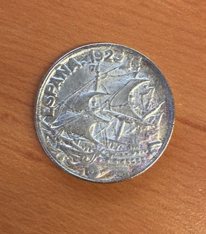 Moneda 25 Céntimos 1925 España
