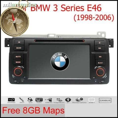 BMW SERIE 3 E46 M3 GPS PANTALLA DVD RADI - foto 1