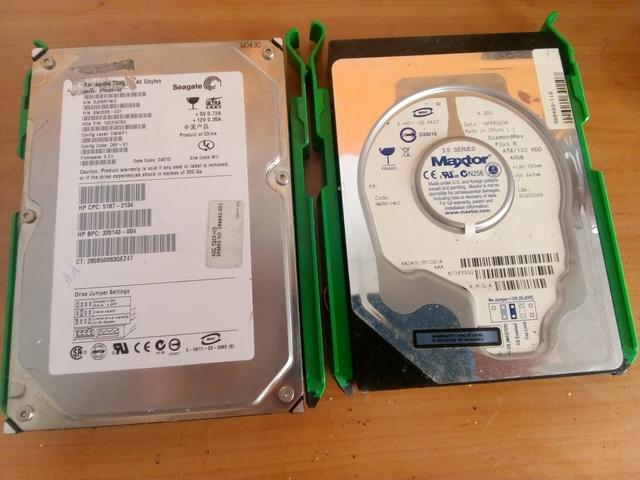 2 DISCOS DUROS OPTIPLEX GX270 FE 40GB - foto 1