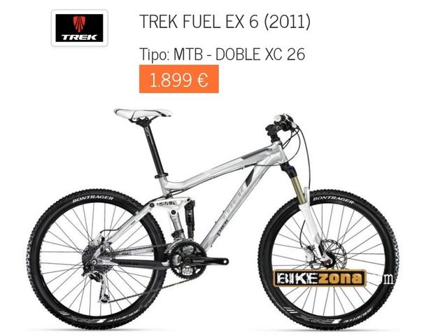 17fc766661b MIL ANUNCIOS.COM - Trek fuel ex 6 Segunda mano y anuncios clasificados