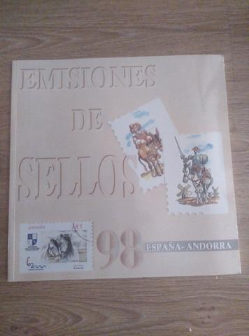 Libros Correos Sellos España Andorra