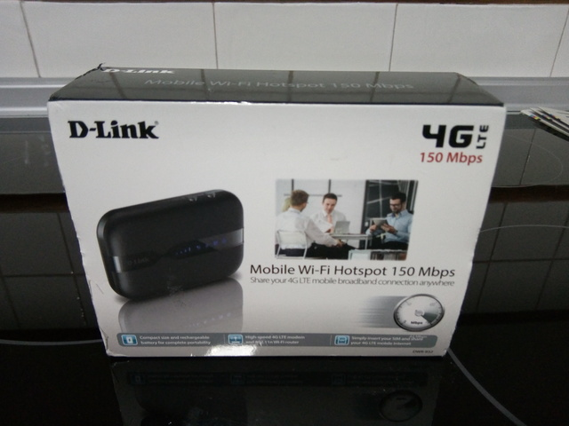 ROUTER D-LINK MOBILE WI-FI 150 MBPS - foto 1
