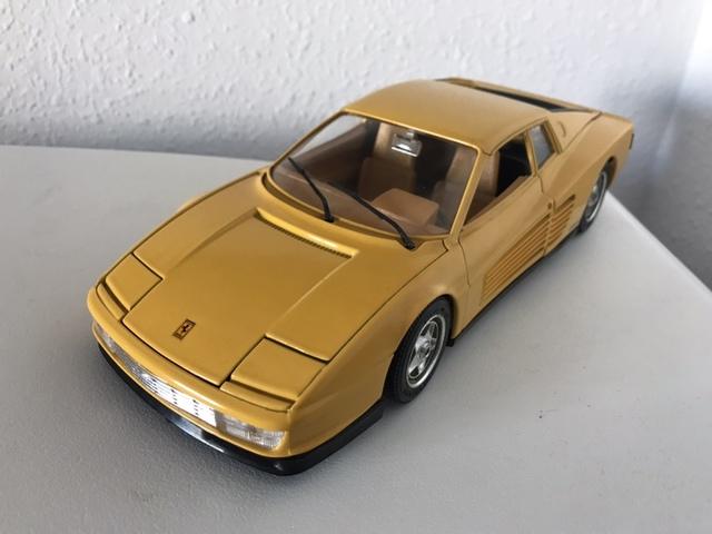 118 Coche Ferrari Ferrari Burago Testarossa Coche Testarossa CdBeorx