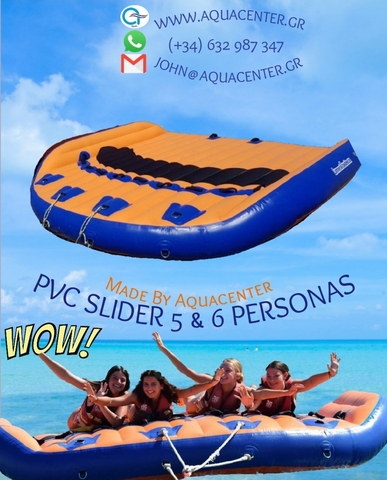 PVC SLIDER ( 5-6 PERS) INFLABLE PRO N°1 - foto 1