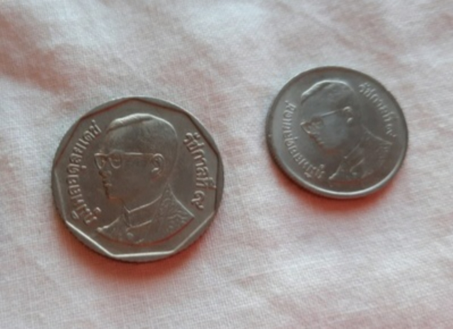 3 Monedas Tailandia Distintas
