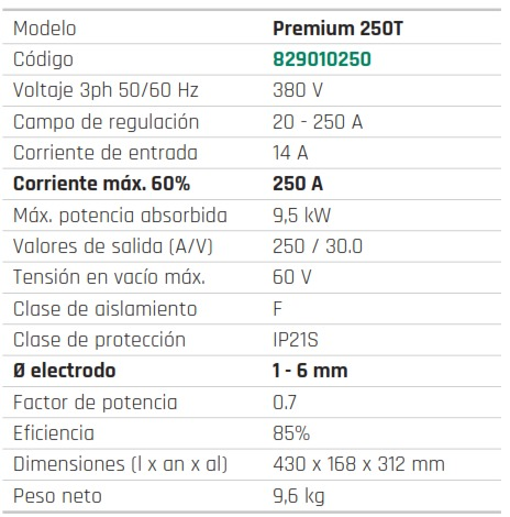 INVERTER TRIFASICO PREMIUM 250T - foto 2