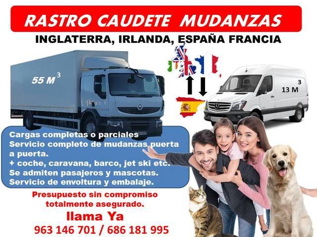 MUDANZAS A INGLATERRA FRANCIA IRLANDA - foto 1