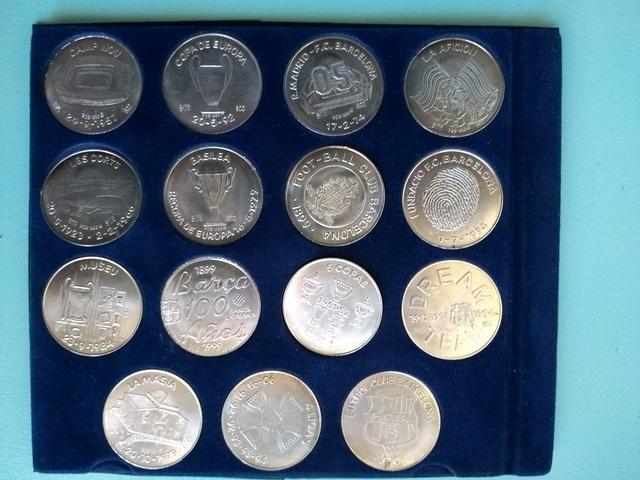 Monedas Plata Bar¢A , Regalo Barcelona