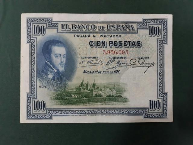 Billete 25 Pesetas Año 1925.Sin Serie