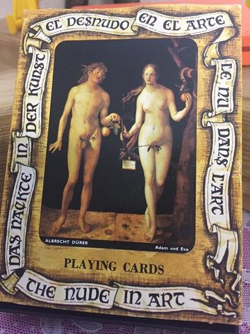 """Baraja """"El Desnudo En El Arte"""" Fournier"""