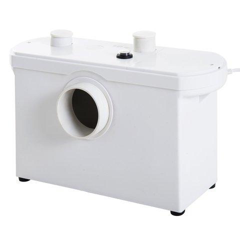 WilTec 3//1 triturador sanitario bombeador WC sistema evacuador inodoro 600W ba/ño agua residual fecal