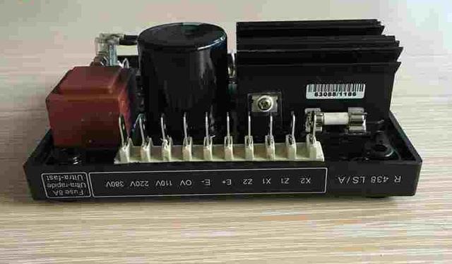 AVR R438 REGULADOR DE VOLTAJE AUTOMÁTICO - foto 5