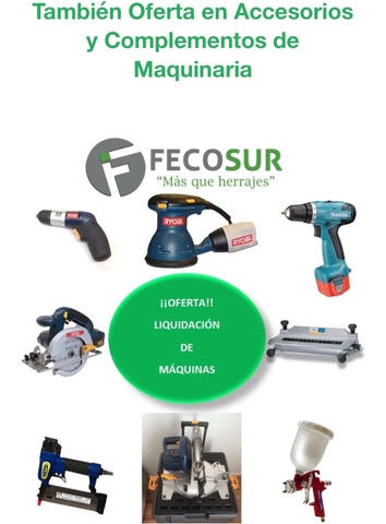 Oferta Por Liquidación En Máquinas.