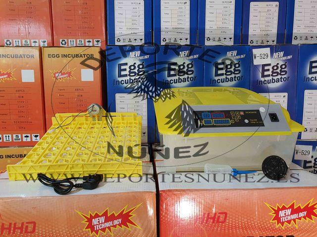 INCUBADORAS AUTOMATICAS PARA 56 HUEVOS - foto 2