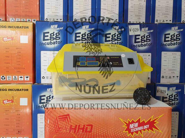 INCUBADORAS AUTOMATICAS PARA 56 HUEVOS - foto 1